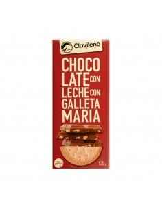 CHOC. LECHE CON GALLETA...